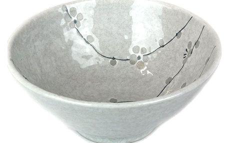 MIJ White Blossom udon miska 20 cm