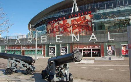 Letecký zájezd na fotbalový zápas v Londýně pro 1 osobu