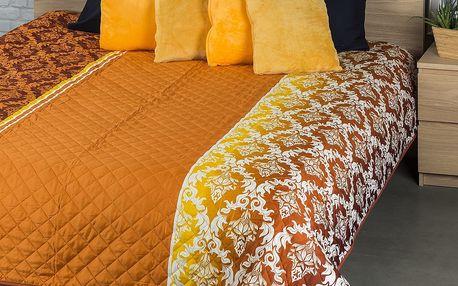 VOG Přehoz na postel Ornamenty, 240 x 220 cm