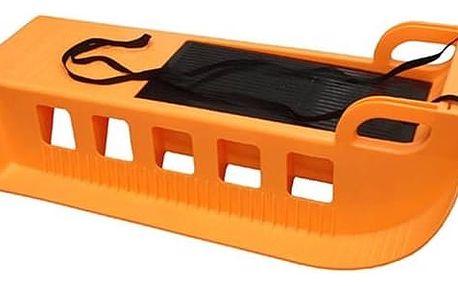 Sáně Acra Kamzík plastové oranžové