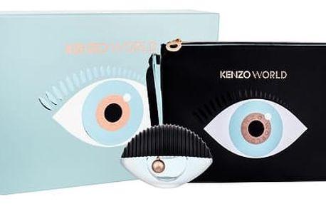 KENZO Kenzo World EDP dárková sada W - EDP 50 ml + kosmetická taška