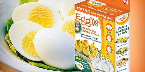 Nádobky na vaření vajec Eggies