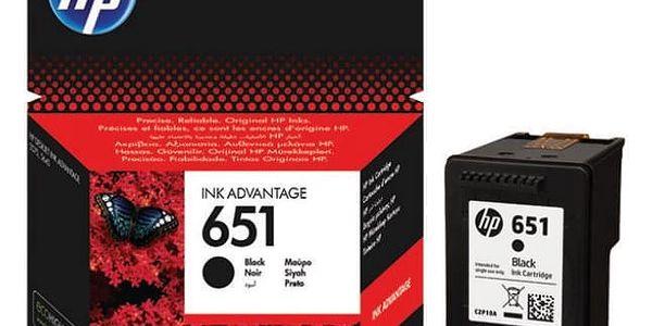 Inkoustová náplň HP 651, C2P10AE (C2P10AE) originální