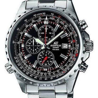 Casio EF 527D-1A + nůž, pojištění hodinek, doprava ZDARMA, záruka 3 roky