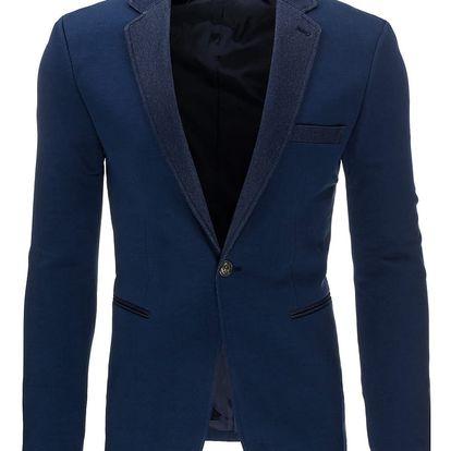 Pánské sako Herdele tmavě modré