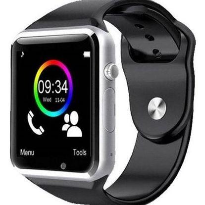 Chytré hodinky IMMAX SW6 SIM (09007) stříbrné