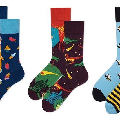 Set ponožek Many Mornings Dinoland, vel. 43-46