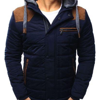 Pánská bunda Gers tmavě modrá