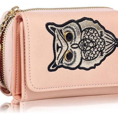 Dámská růžová peněženka Anastasia 1080