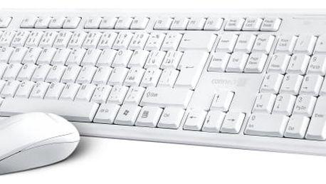 Klávesnice s myší Connect IT CI-1118, CZ/SK (CI-1118) bílá
