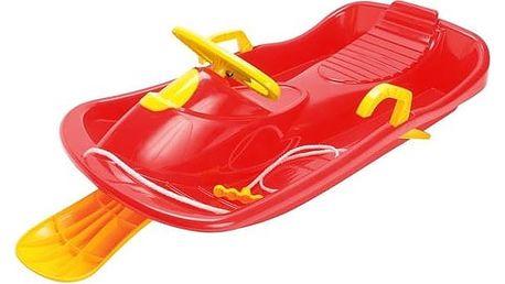Boby Dantoy plastové s volantem červené + Doprava zdarma