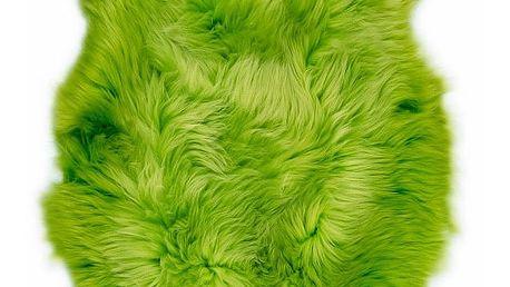 Zelená ovčí kožešina Swedo, 110x60cm - doprava zdarma!