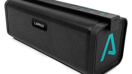 Přenosný reproduktor LAMAX Beat Street ST-1 černý/tyrkysový + dárek Příslušenství LAMAX pro Sentine/street černé