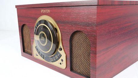 Stylové gramofony v retro i moderním designu, doprava zdarma