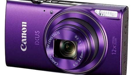 Digitální fotoaparát Canon IXUS 285 HS fialový + Doprava zdarma