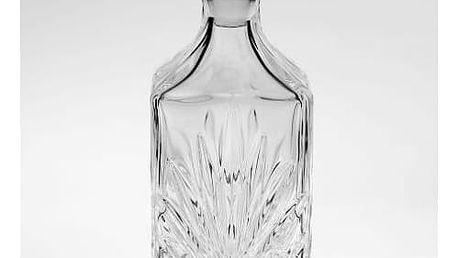 CRYSTAL BOHEMIA Křišťálová karafa High Elington Crystal BOHEMIA, čirá barva, sklo