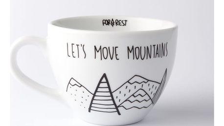 Velký hrnek Let´s Move Mountains, 500ml