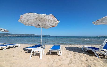 Bulharsko Slunečné pobřeží apartmány 2 až 6 os. autobusem Cacao Beach