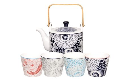 Pětidílný čajový set Tokyo Design Studio Shiki - doprava zdarma!