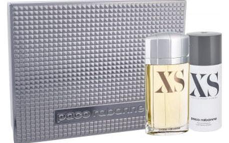 Paco Rabanne XS EDT dárková sada M - Edt 100ml + 150ml deodorant