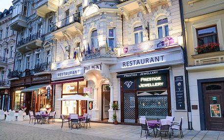 Karlovy Vary luxusně se vstupem do lázní