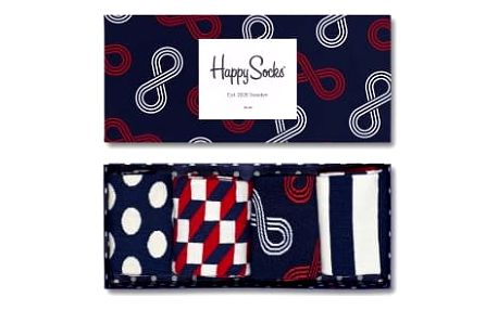 Happy Socks pánský set ponožek Eternity