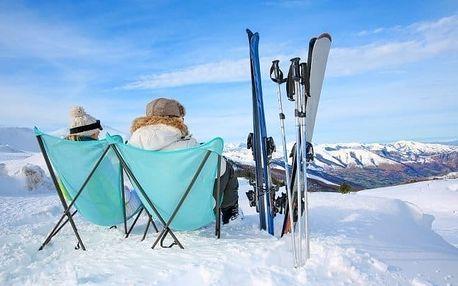 Vysoké Tatry se snídaní a půjčením lyží