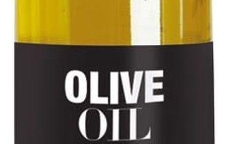 Nicolas Vahé Olivový olej s bazalkou 250 ml, zelená barva, černá barva, sklo