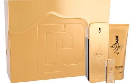 Paco Rabanne 1 Million dárková kazeta pro muže toaletní voda 100 ml + sprchový gel 100 ml + toaletní voda 5 ml