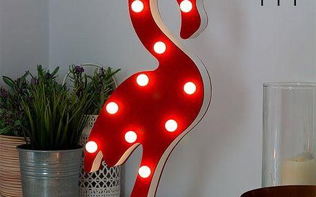 LED Lampa Plameňák Wagon Trend 12 LED