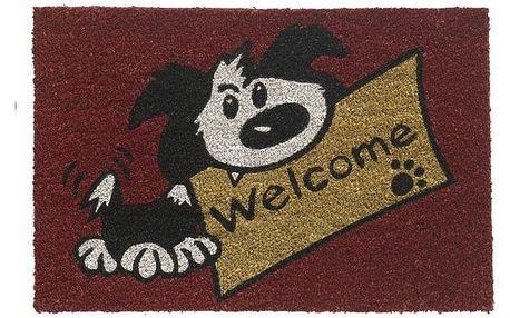 Vopi Vnitřní rohožka RucoPrint welcome dog 147/414, 40 x 60 cm
