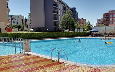 Bulharsko Slunečné pobřeží apartmán**** 2 až 5 os, POBYTOVÝ ZÁJEZ..., Severní Černomoří, Bulharsko, autobusem, bez stravy