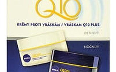 Nivea Q10 Plus denní pleťový krém dárková sada W - denní pleťový krém 50 ml + noční pleťový krém 50 ml