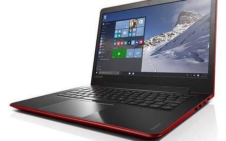 Notebook Lenovo IdeaPad 510S-13IKB (80V0000XCK) červený + Doprava zdarma