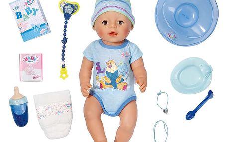 ZAPF Baby Born Interaktivní panenka – chlapeček, 43 cm