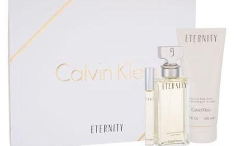 Calvin Klein Eternity EDP dárková sada W - Edp 100ml + 200ml tělové mléko + 10ml miniatura