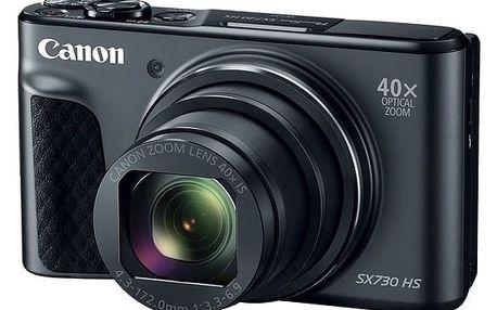 Digitální fotoaparát Canon SX730HS (1791C002) černý + DOPRAVA ZDARMA