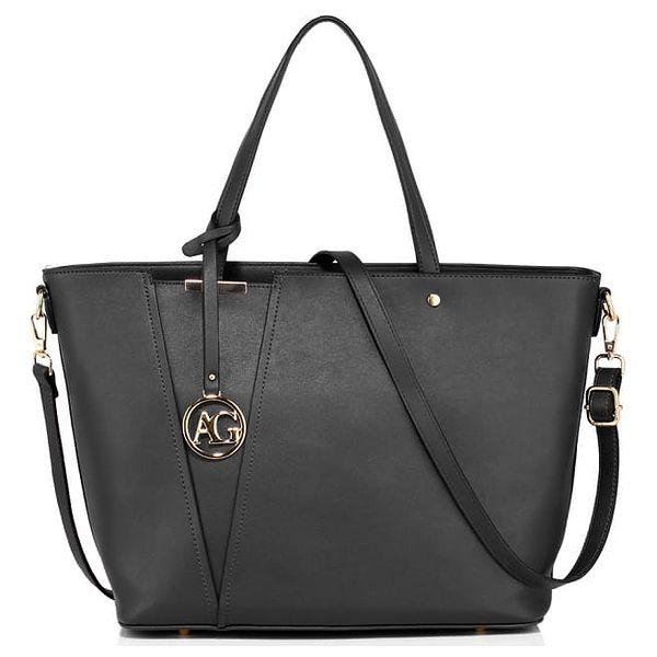 Dámská černá kabelka Dorny 522