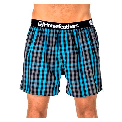 Pánské Trenky Horsefeathers Apollo Boxer Shorts Castlerock XL