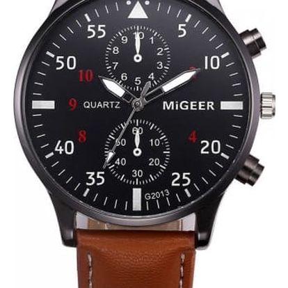 Pánské military hodinky ve třech barvách
