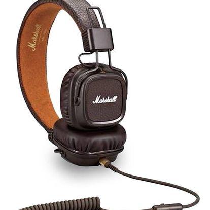 Sluchátka Marshall Major II Brown + Doprava zdarma