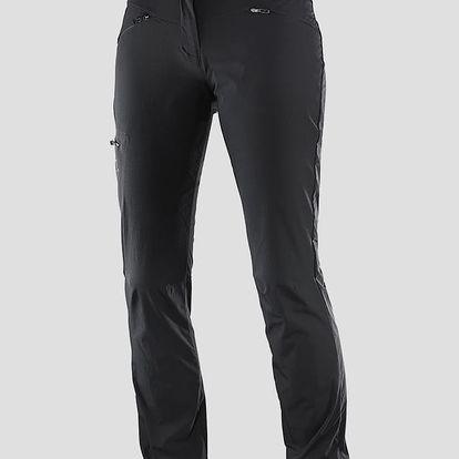 Kalhoty Salomon WAYFARER PANT W Black Černá
