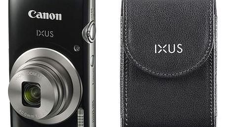 Digitální fotoaparát Canon 185 + orig.pouzdro (1803C010) černý