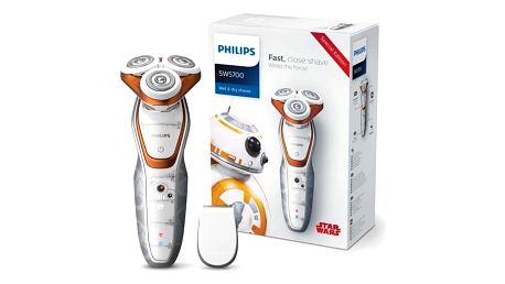 Holicí strojek Philips Star wars SW5700/07 bílý