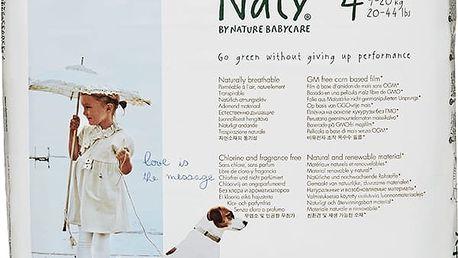 NATY NATURE BABYCARE 4+ MAXI+, 25 ks (9 - 20 kg) - jednorázové pleny