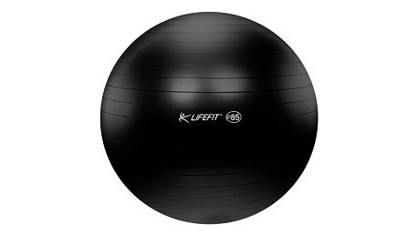 Gymnastický míč LIFEFIT ANTI-BURST 85 cm černý