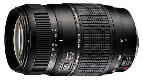 Objektiv Tamron AF 70-300mm F/4-5.6 Di LD Macro 1:2 pro Canon (A17 E) černý + Doprava zdarma