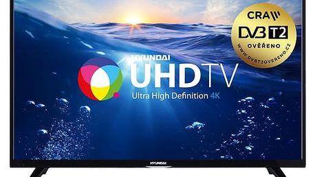 Televize Hyundai ULS 55TS292 SMART černá + DOPRAVA ZDARMA