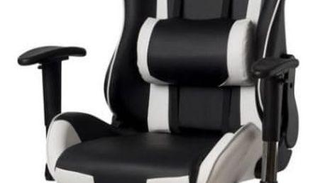 ADK Trade 39145 Kanclářská židle - křeslo NEBRASKA - šedá