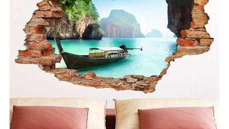 Samolepka Ambiance The Secret Islands View